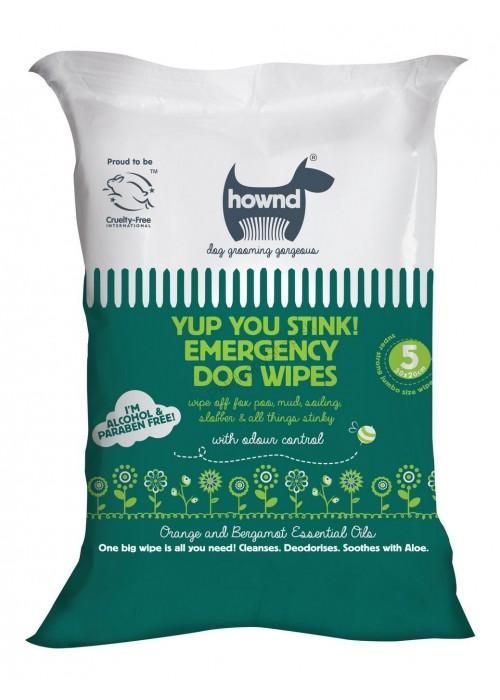 HOWND® Yup You Stink! Emergency Dog Wipes